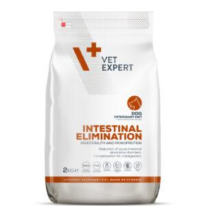 VetExpert 4T Tierärztliche Diät - Intestinal Elimination – Premium Tierärztliche Diät für Hunde mit Verdauungsstörungen, Diätfutter, Tierärztliche Diät, entzündlichen Magen- und Darmerkrankungen, Futtermittelunverträglichkeit, Verdauungsbeschwerden, Magen und Darm Infek, Magenentleerung, Bauchspeicheldrüse.