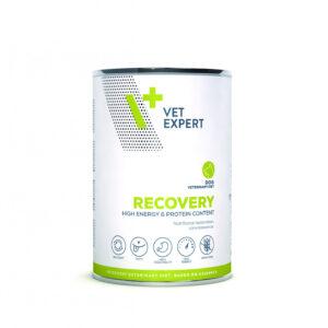 VetExpert 4T Tierärztliche Diät - Recovery – Premium Tierärztliche Diät für geschwächte, erwachsene Hunde, Diätfutter, Tierärztliche Diät, Anorexie, Schwäche, Genesung nach Operation und Sonderernährung, Rekonvaleszenz, Hepatische Lipidose, Fehl- und Mangelernährung, Hund Schwächephase, hochverdaulich und gut verträglich, Appetitlosigkeit, Gewichtsverlust.
