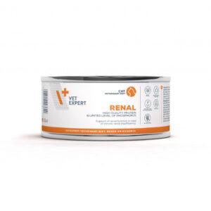 VetExpert 4T Tierärztliche Diät - Renal – Premium Tierärztliche Diät für Hunde mit Chronische Nierenversagen / Nierenerkrankung, Diätfutter, Tierärztliche Diät, Nierenfunktion, Niereninsuffizienz, Nierendiät, geschwächten Nieren, Nierenerkrankung, Nierenentlastung.
