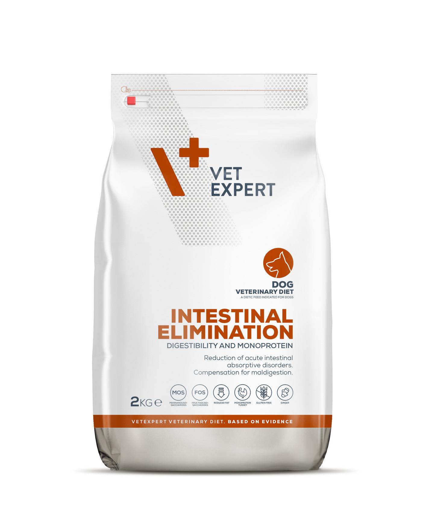 VetExpert 4T Tierärztliche Diät - Intestinal – 2kg