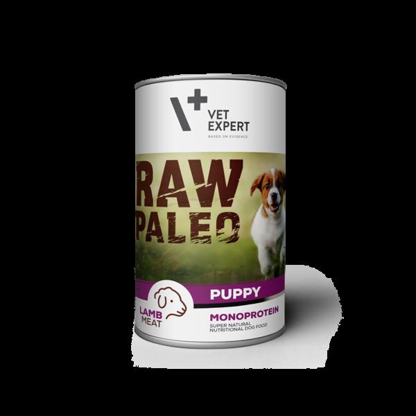 VetExpert Puppy Lamm Nassfutter Premium getreidefreies Hundefutter, Alleinfuttermittel, Trockenfutter, Nassfutter, Hundebedarf, Hundenahrung, Hundeernährung