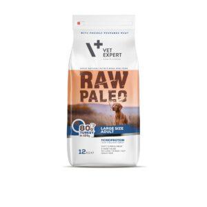 VetExpert Raw Paleo Adult Large Breed 12kg Premium getreidefreies Hundefutter, Alleinfuttermittel, Trockenfutter, Nassfutter, Hundebedarf, Hundenahrung, Hundeernährung