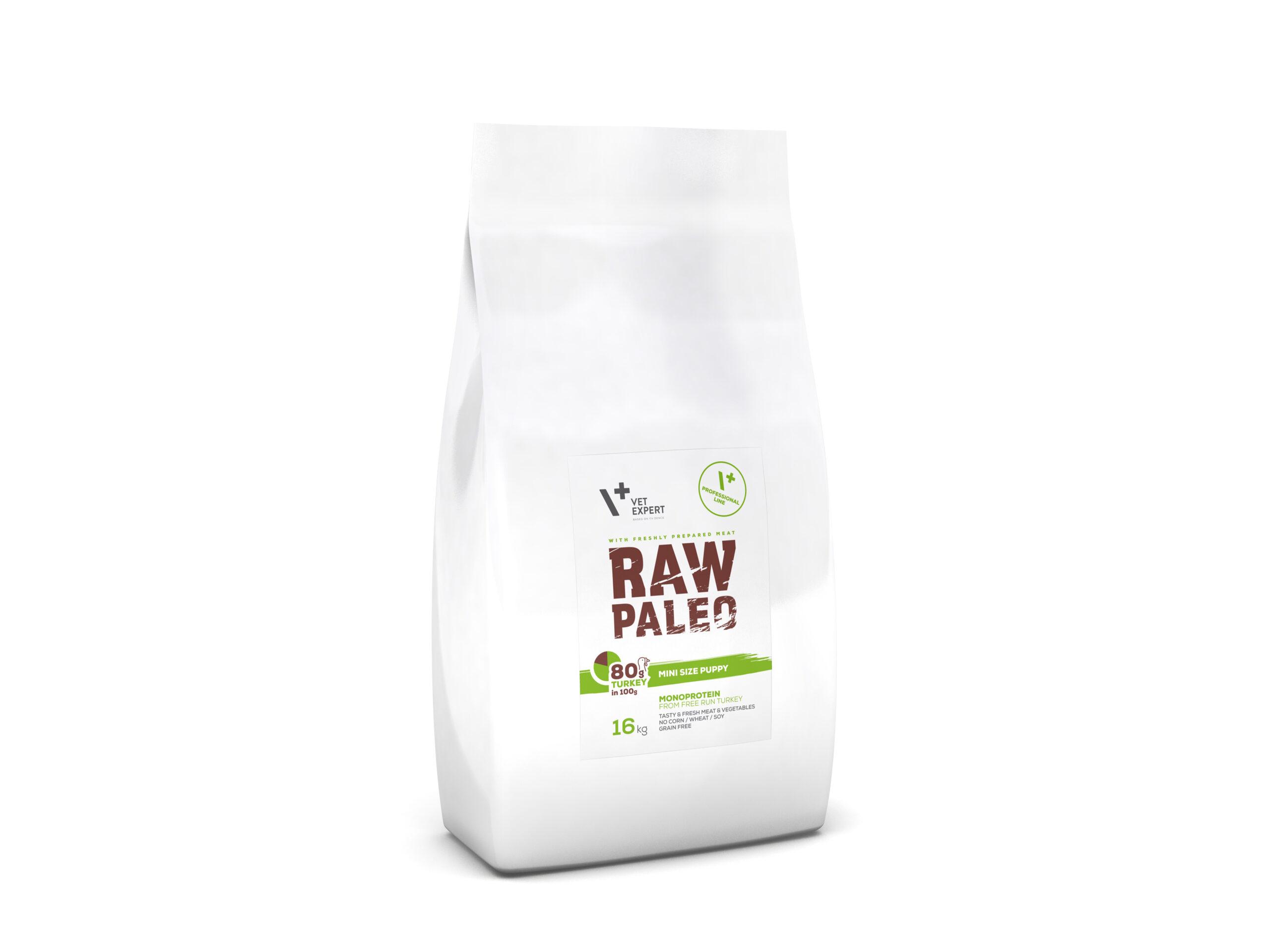 VetExpert Raw Paleo Mini Size Puppy 16kg Premium getreidefreies Hundefutter, Alleinfuttermittel, Trockenfutter, Nassfutter, Hundebedarf, Hundenahrung, Hundeernährung