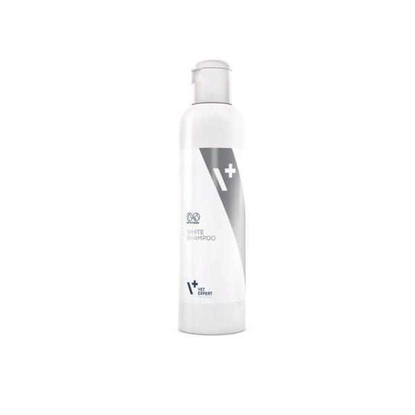 VetExpert White Shampoo Tierpflegeprodukte, Hundeshampoo, Tiergesundheit, Ohrreiniger für Hunde, Augenreiniger für Hunde, Hundepflege, Fellpflege, Katzenpflege, Hundefriseur, Katzenshampoo, Tierbedarf