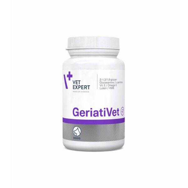Vetexpert GeriatiVet 45 Tab Diätergänzungsfuttermittel Tierarztbedarf, Veterinärbedarf, Veterinärmedizin, Praxisbedarf, Ergänzungsfuttermittel, Tierarztprodukten, Tierapotheke, Tierpflegeprodukte