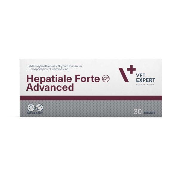 Vetexpert Hepatiale Forte Advanced 30 Tab Diätergänzungsfuttermittel Tierarztbedarf, Veterinärbedarf, Veterinärmedizin, Praxisbedarf, Ergänzungsfuttermittel, Tierarztprodukten, Tierapotheke, Tierpflegeprodukte
