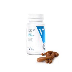 Pet - VetExpert Skin & Coat 30 Kapseln Twist-Off Diätergänzungsfuttermittel Tierarztbedarf, Veterinärbedarf, Veterinärmedizin, Praxisbedarf, Ergänzungsfuttermittel, Tierarztprodukten, Tierapotheke, Tierpflegeprodukte